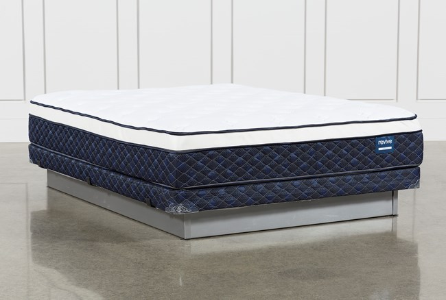 Revive Series 6 Full Mattress With Low Profile Foundation - 360