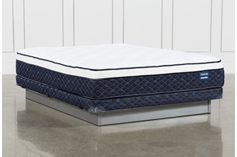 Kit-Revive Series 6 Queen Mattress With Low Profile Foundation