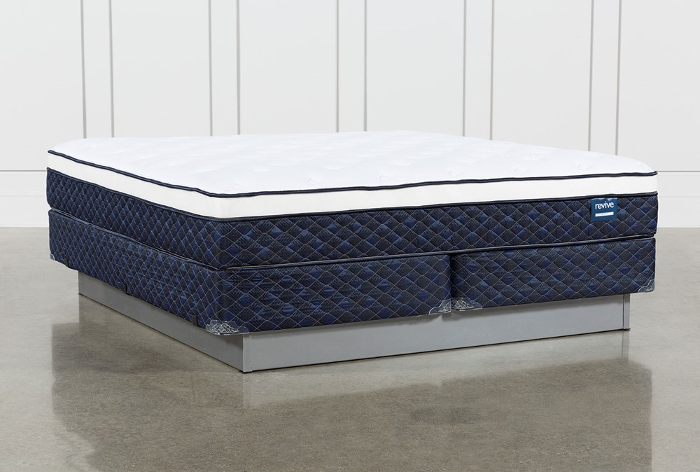 Kit-Revive Series 6 Cal King Mattress With Foundation