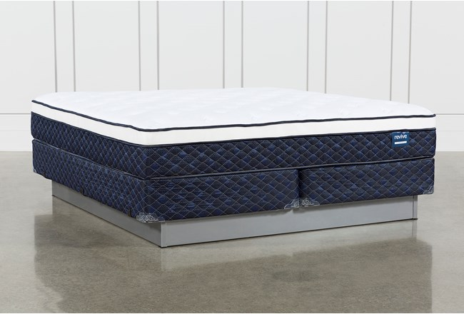 Kit-Revive Series 6 Cal King Mattress With Foundation - 360