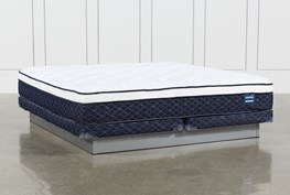 Series 6 Eastern King Mattress With Low Profile Foundation