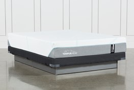 Tempur-Adapt Medium Full Mattress And Low Profile Foundation