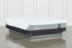 Tempur-Adapt Medium Queen Mattress And Low Profile Foundation