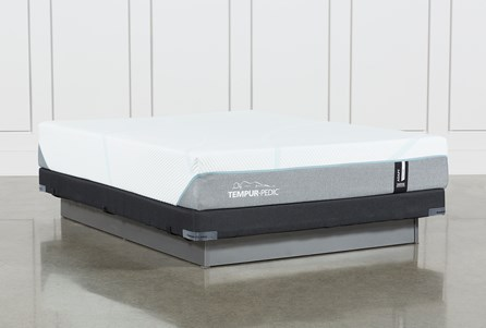Tempur-Adapt Medium Queen Mattress And Low Profile Foundation