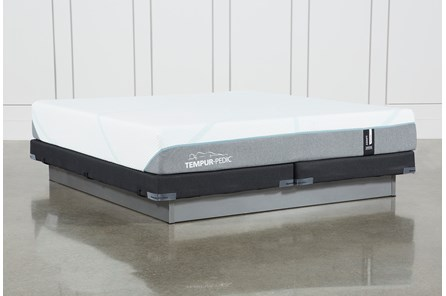 Tempur-Adapt Medium Eastern King Mattress And Low Profile Foundation - Main