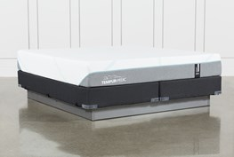 Tempur-Adapt Medium Cal King Mattress And Foundation