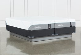Tempur-Adapt Medium Split Cal King Mattress And Foundation