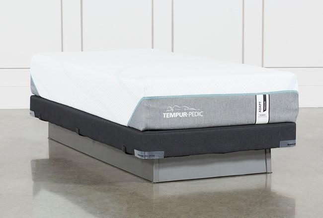 Tempur-Adapt Medium Hybrid Twin Xl Mattress And Low Profile Foundation - 360