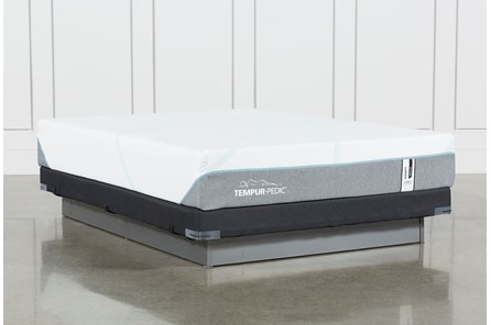 Tempur-Adapt Medium Hybrid Full Mattress And Low Profile Foundation