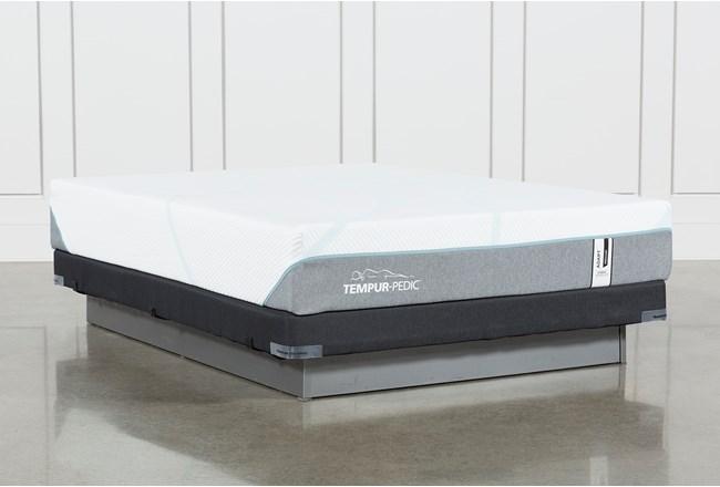 Tempur-Adapt Medium Hybrid Full Mattress And Low Profile Foundation - 360