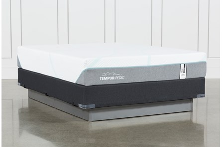 Tempur-Adapt Medium Hybrid Queen Mattress And Foundation - Main