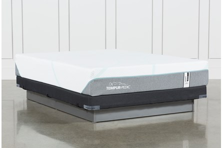 Tempur-Adapt Medium Hybrid Queen Mattress And Low Profile Foundation - Main