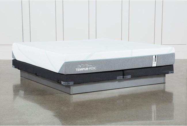 Tempur-Adapt Medium Hybrid Eastern King Mattress And Low Profile Foundation - 360