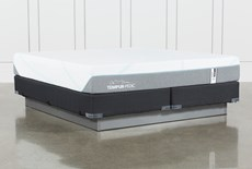 Tempur-Adapt Medium Hybrid Cal King Mattress And Foundation