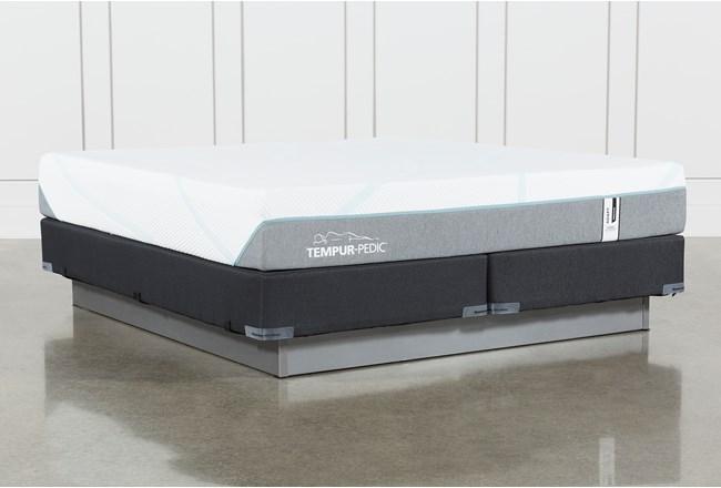 Tempur-Adapt Medium Hybrid Cal King Mattress And Foundation - 360