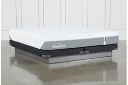 Tempur-Adapt Medium Hybrid Cal King Mattress And Low Profile Foundation