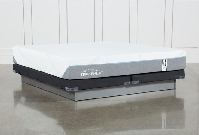 Tempur-Adapt Medium Hybrid Cal King Mattress And Low Profile Foundation - 360