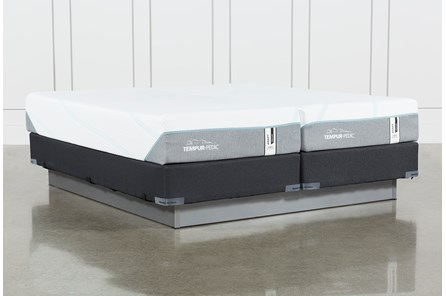 Tempur-Adapt Medium Hybrid Split Cal King Mattress And Foundation