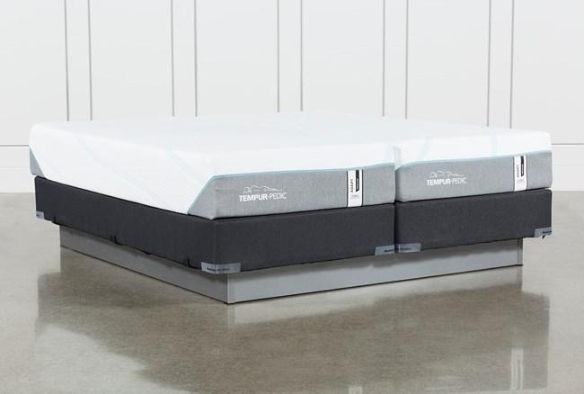 Tempur-Adapt Medium Hybrid Split Cal King Mattress And Foundation - 360