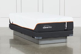 Tempur-Pro Adapt Firm Twin Xl Mattress And Low Profile Foundation