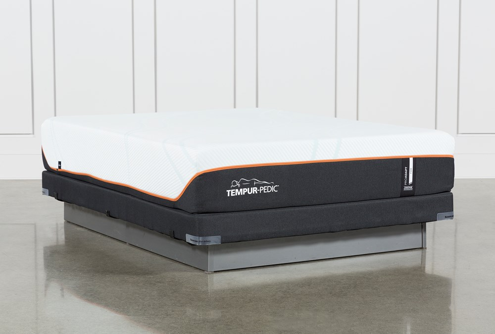 Tempur-Pro Adapt Firm Full Mattress And Low Profile Foundation
