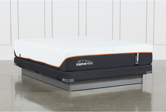 Tempur-Pro Adapt Firm Full Mattress And Low Profile Foundation - 360