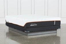 Tempur-Pro Adapt Firm Queen Mattress And Low Profile Foundation