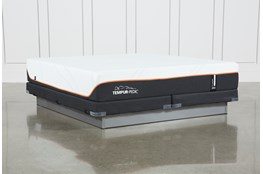 Tempur-Pro Adapt Firm Eastern King Mattress And Low Profile Foundation