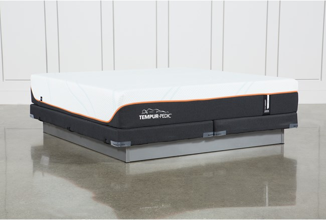 Tempur-Pro Adapt Firm Eastern King Mattress And Low Profile Foundation - 360