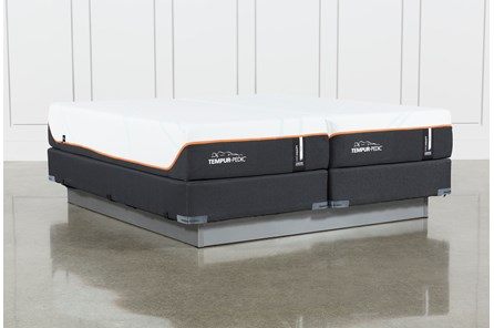 Tempur-Pro Adapt Firm Split Cal King Mattress And Foundation