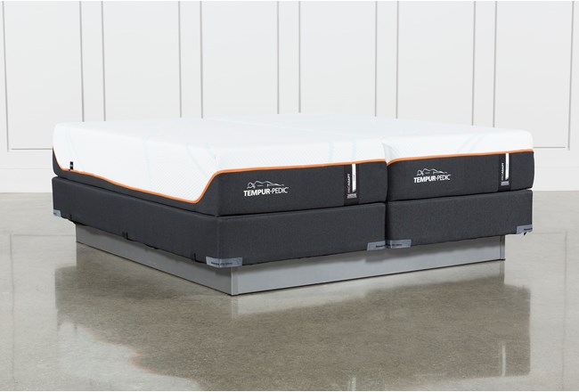 Tempur-Pro Adapt Firm Split Cal King Mattress And Foundation - 360