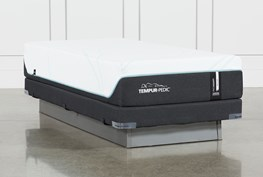 Tempur-Pro Adapt Medium Twin Xl Mattress And Low Profile Foundation