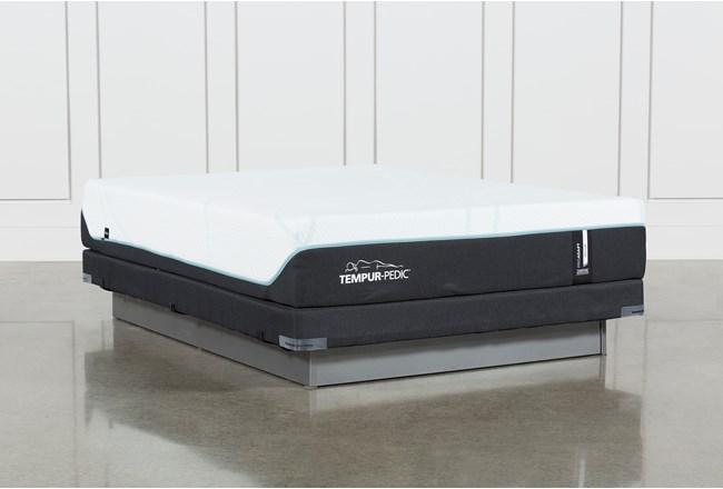 Tempur-Pro Adapt Medium Full Mattress And Low Profile Foundation - 360