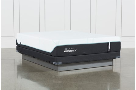 Tempur-Pro Adapt Medium Queen Mattress And Low Profile Foundation - Main