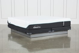 Tempur-Pro Adapt Medium Eastern King Mattress And Low Profile Foundation