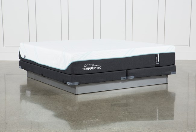 Tempur-Pro Adapt Medium Cal King Mattress And Low Profile Foundation - 360