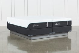 Tempur-Pro Adapt Medium Cal King Split Mattress And Foundation