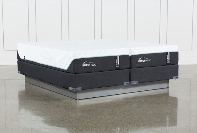 Tempur-Pro Adapt Medium Cal King Split Mattress And Foundation - 360