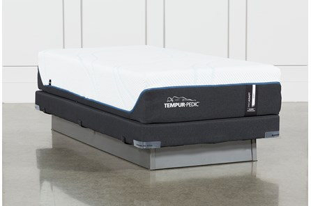 Tempur-Pro Adapt Soft Twin Xl Mattress And Low Profile Foundation