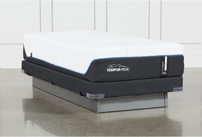 Tempur-Pro Adapt Soft Twin Xl Mattress And Low Profile Foundation - 360