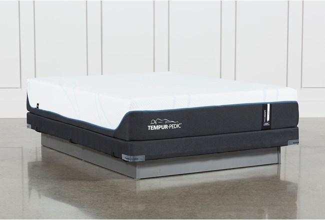Tempur-Pro Adapt Soft Full Mattress And Low Profile Foundation - 360
