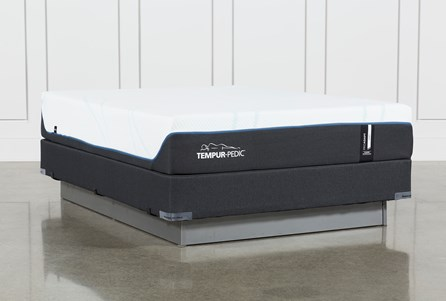 Tempur-Pro Adapt Soft Queen Mattress And Foundation