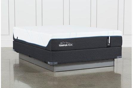 Tempur-Pro Adapt Soft Queen Mattress And Foundation - Main