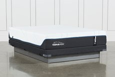 Tempur-Pro Adapt Soft Queen Mattress And Low Profile Foundation