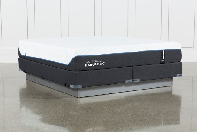 Tempur-Pro Adapt Soft Eastern King Mattress And Foundation - 360