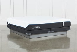 Tempur-Pro Adapt Soft Eastern King Mattress And Low Profile Foundation