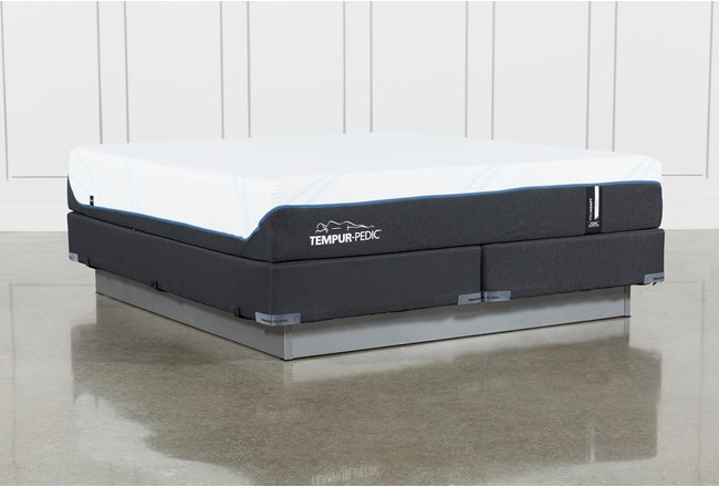 Tempur-Pro Adapt Soft Cal King Mattress And Foundation - 360