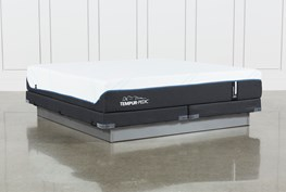 Tempur-Pro Adapt Soft Cal King Mattress And Low Profile Foundation