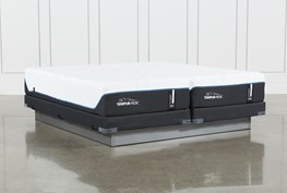 Tempur-Pro Adapt Soft Split Cal King Mattress And Low Profile Foundation