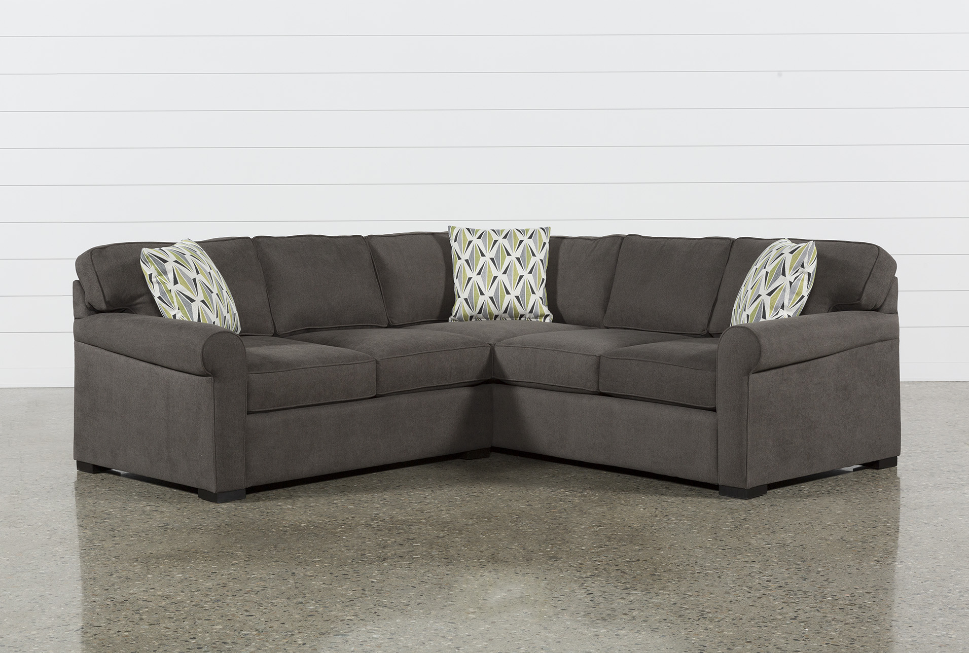 small sectional sofas living spaces rh livingspaces com Deep Sectional Sofa Deep Sectional Sofa